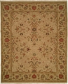 Hacienda HAC-09 Soft Gold Flat Weave Hand Knotted 100% Wool Rugs On Sale