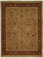 Hacienda HAC-13 Wheat Red Rug