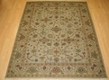 Hacienda HAC-16 Ivory Ivory Flat Weave Hand Knotted 100% Wool Rugs On Sale