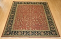Hacienda HAC-19 Rust Black Rug