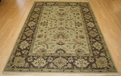 Hacienda HAC-29 Gold Brown Flat Weave Hand Knotted 100% Wool Rugs On Sale