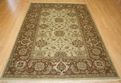 Hacienda HAC-35 Ivory Brown Rug