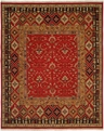 Hacienda HAC-37 Red Red Flat Weave Hand Knotted 100% Wool Rugs On Sale