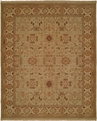 Hacienda HAC-43 Light Green Ivory Flat Weave Hand Knotted 100% Wool Rugs On Sale