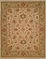 Hacienda HAC-46 Ivory Light Green Rug