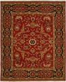 Hacienda HAC-47 Red Black Rug