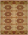 Hacienda HAC-56 Earthtones Flat Weave Hand Knotted 100% Wool Rugs On Sale