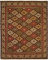 Hacienda HAC-59 Multi Flat Weave Hand Knotted 100% Wool Rugs On Sale