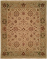 Hacienda HAC-61 Ivory Light Green Flat Weave Hand Knotted 100% Wool Rugs On Sale