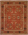 Hacienda HAC-63 Red Red Flat Weave Hand Knotted 100% Wool Rugs On Sale
