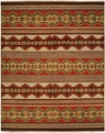 Hacienda HAC-75 Multi Flat Weave Hand Knotted 100% Wool Rugs On Sale