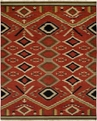 Hacienda HAC-76 Multi Flat Weave Hand Knotted 100% Wool Rugs On Sale