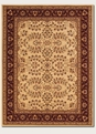 Herati Cream Red Antique Anatolia Area Rug by Couristan