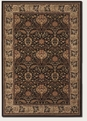 Herati Palm Chocolate 6384/3767 Everest Area Rug by Couristan