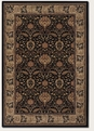 Herati Palm Midnight 6384/3363 Everest Area Rug by Couristan