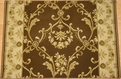 Hereke Isparta 23170 Bronze Carpet Stair Runner