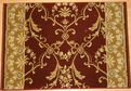 Hereke Isparta 23171 Claret Carpet Stair Runner