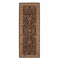 Heritage Hall HE05 Brown Hand Tufted New Zealand Wool Nourison Rugs
