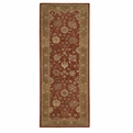 Heritage Hall HE13 Brick Hand Tufted New Zealand Wool Nourison Rugs