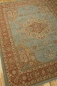 Heritage Hall HE16 Aqua Area Rug by Nourison
