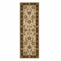 Heritage Hall HE19 Beige Hand Tufted New Zealand Wool Nourison Rugs