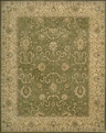 Heritage Hall HE20 Green Rug by Nourison