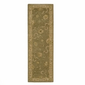 Heritage Hall HE20 Green Hand Tufted New Zealand Wool Nourison Rugs