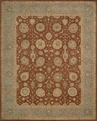 Heritage Hall HE24 Brick Area Rug by Nourison