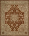 Heritage Hall HE26 Rust Area Rug by Nourison