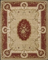 Heritage Savonneri HS02 Gold Area Rug by Nourison