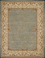 Heritage Savonneri HS03 Turquoise Rug by Nourison