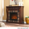 Holly & Martin Calgary Espresso Electric Fireplace
