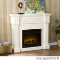 Holly & Martin Huntington Ivory Electric Fireplace