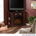 Holly & Martin Ponoma Cherry Convertible Media Electric Fireplace