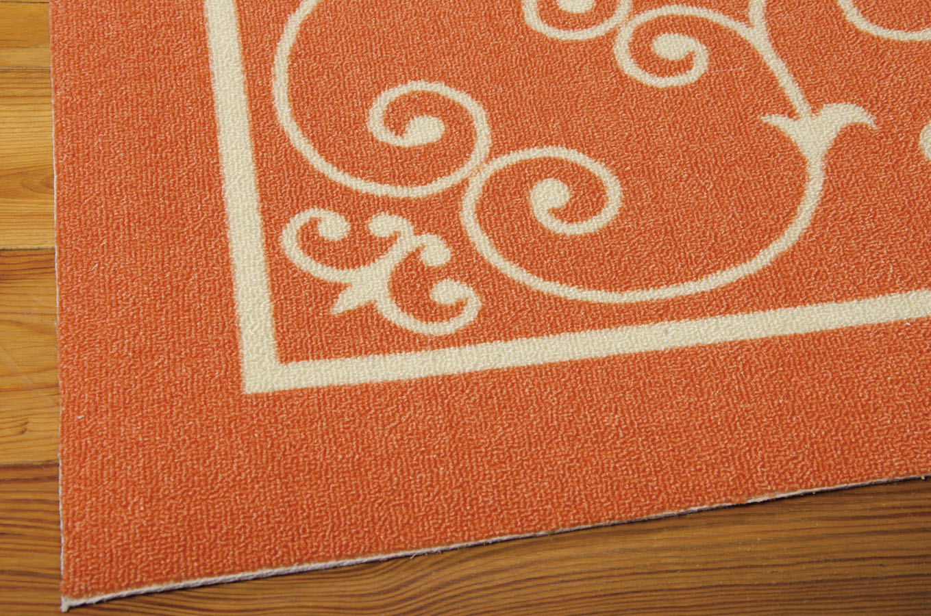 Home And Garden RS19 Orange Area Rug by Nourison Payless
