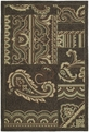 Home & Porch Dutch Island 2022 40 Chocolate Outdoor Area Rug by Kaleen