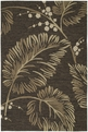 Home & Porch Palmyra 2025 40 Chocolate Outdoor Area Rug by Kaleen