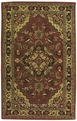 India House IH02 Rust Area Rug by Nourison
