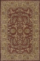 India House IH58 Rust Area Rug by Nourison