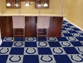 Indianapolis Colts Carpet Tiles 100% Carpet with Non-Skid Vinyl Backing