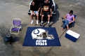 Indianapolis Colts Tailgater Mat Rug Machine Made 100% Nylon with Non-Skid Backing