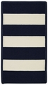 Indigo White Willoughby Rug by Capel