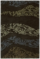 Inspire 6401 40 Accolade Chocolate Area Rug by Kaleen