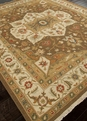 Jaimak Lachin JM-15 Cocoa Brown/Soft Gold Area Rug by Jaipur