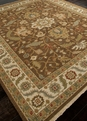 Jaimak Margara JM-16 Cocoa Brown/Soft Gold Area Rug by Jaipur
