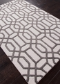 Jaipur City Bellevue CT07 Antique White Liquorice Area Rug
