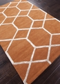 Jaipur City Chicago CT12 Orange Spice Area Rug