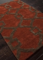 Jaipur City Regency CT04 Red Oxide Area Rug