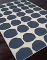 Jaipur Maroc MR08 Ghita White Dark Denim Area Rug