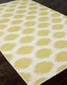 Jaipur Maroc MR41 Nyasha White Wild Lime Area Rug